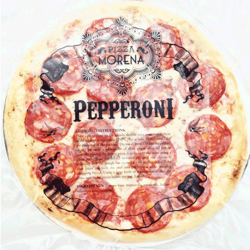 Pizza Morena Frozen Pizza - Pepperoni - The Green Grocer ...